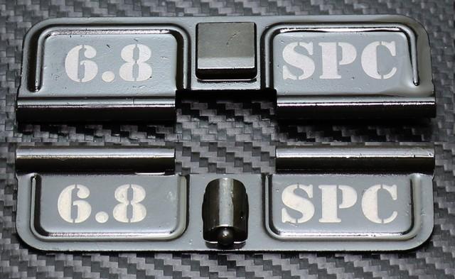 Ar 15 6 8 Spc Dust Cover Premium Laser Engraved Inside