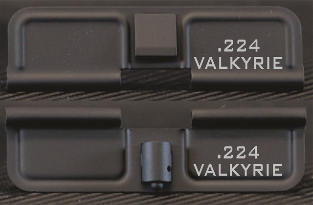AR-15 224 Valkyrie Minimal Dust Cover - Premium Laser Engraved Inside & Outside