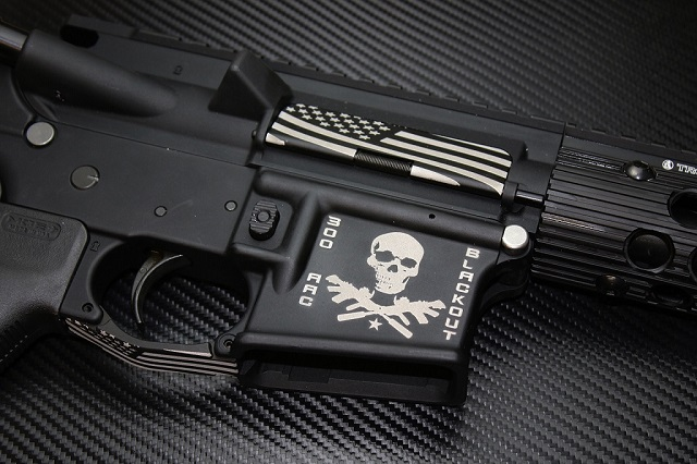 SBR Engraving Service For Making an NFA Firearm on a Form 1