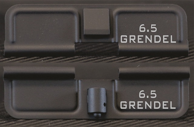 AR-15 6.5 Grendel Minimal Dust Cover - Premium Laser Engraved Inside & Outside