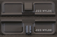 AR-15 223 Wylde Minimal Dust Cover - Premium Laser Engraved Inside & Outside