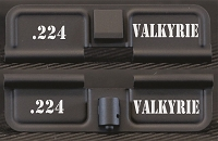 224 Valkyrie Engraved Ejection Port Dust Cover