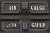 AR-15 410 Gauge Dust Cover - Premium Laser Engraved Inside & Outside