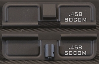 AR-15 458 Socom Minimal Dust Cover - Premium Laser Engraved Inside & Outside