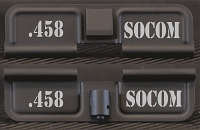 AR-15 458 Socom Dust Cover - Premium Laser Engraved Inside & Outside