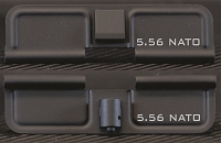 AR-15 5.56 NATO Minimal Dust Cover - Premium Laser Engraved Inside & Outside
