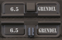 AR-15 6.5 Grendel Dust Cover - Premium Laser Engraved Inside & Outside