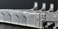 Custom deep engraved 80 percent AR15 lower with graphics and serial number