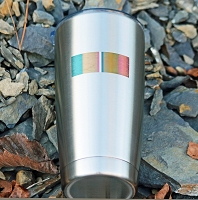 Combat Action Ribbon Stainless Steel Insulated Tumbler Personalized With Your Text or Name