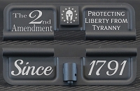 2nd Amendment Protecting Liberty From Tyranny Engraved AR15 Ejection Port Dust Cover - Premium Images Inside & Outside