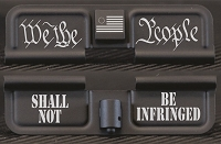 We The People Engraved Dust Cover