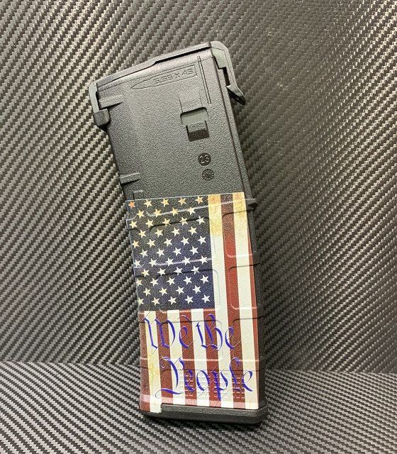 We The People US Flag AR15 ColorMag Magazine