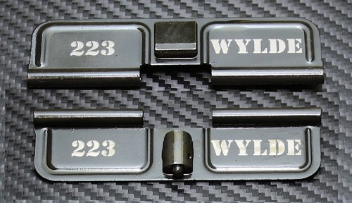 AR-15 223 Wylde Dust Cover - Premium Laser Engraved Inside & Outside