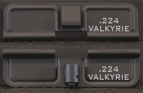 .224 Valkyrie Minimal Engraved AR15 Dust Cover