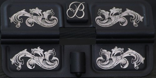 Fancy Scroll Engraving - Add your initial or monogram