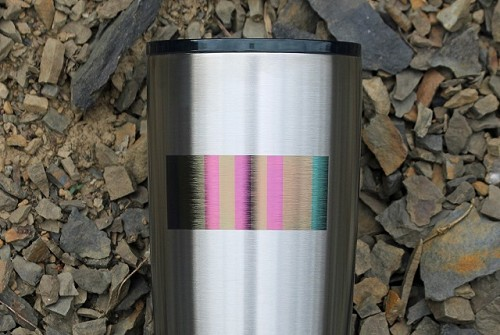 Vietnam Service Ribbon Stainless Steel Insulated Tumbler Personalized With Your Text or Name