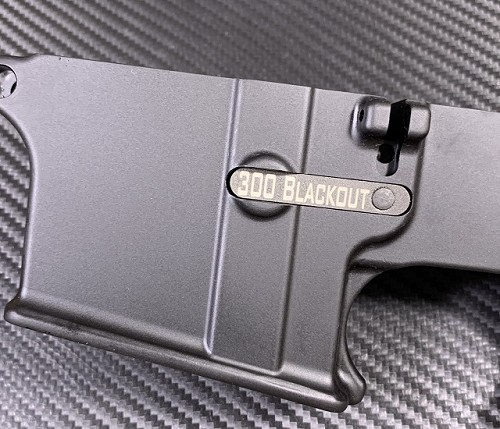 Custom Laser Engraved AR15 Magazine Catch - Premium Engraving