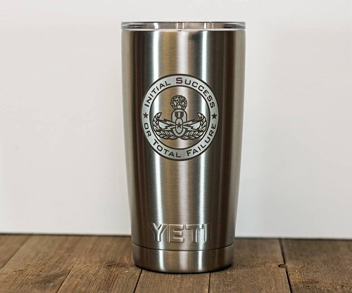 EOD Stainless Steel Insulated Tumbler Personalized With Your Text or Name