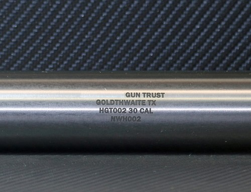 Suppressor Tube Engraving Service For Making an NFA Firearm on a Form 1