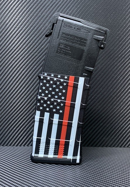 Thin Red Line Flag AR15 ColorMag Magazine