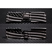 Wavy Flag engraved AR10 Ejection Port Dust Cover